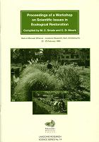 Proceedings of a Workshop on Scientific Issues in Ecological Restoration