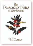 Poisonous Plants in NZ by HE Connor