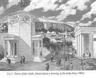 Fig 3. Tower of the winds, Athens