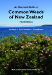 Book cover - Common Weeds of New Zealand